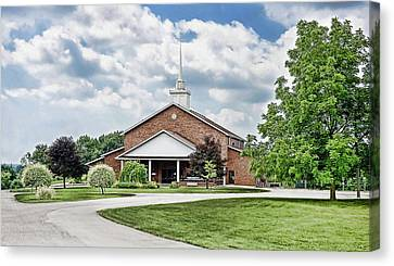 Church On Coldwater Canvas Print