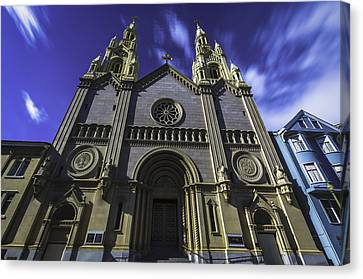 Church Canvas Print by Phil Fitzgerald