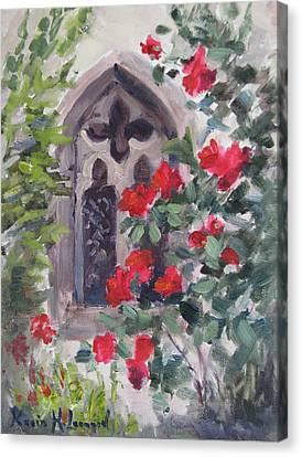 Kirche Canvas Print - Church Window Minoriten Kirche by Karin  Leonard