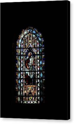 Church Window  Canvas Print by Tommytechno Sweden
