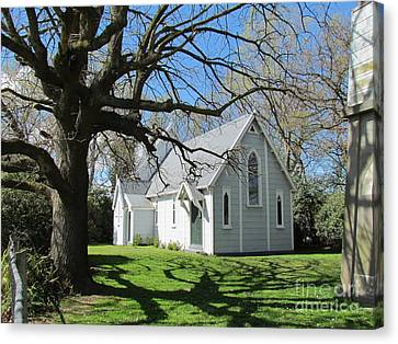 Church.building Canvas Print by Joyce Woodhouse