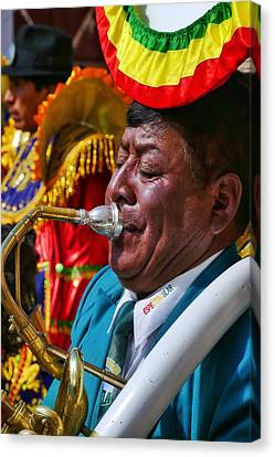 Canvas Print - Chutillos Fiesta 25 by Skip Hunt