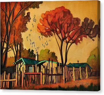 Cia's Music House Canvas Print by Art West