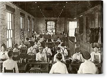 Cigar Factory, 1909 Canvas Print by Granger