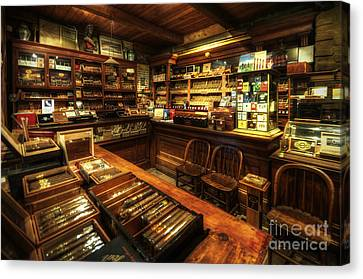 Cigar Shop Canvas Print
