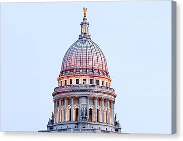 Democracy Canvas Print - Cimmerian Capitol by Todd Klassy