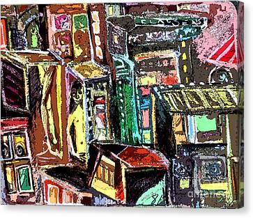 Cin City 2 Canvas Print by Mindy Newman