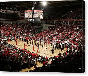 Cincinnati Bearcats Fifth Third Arena Canvas Print by Replay Photos