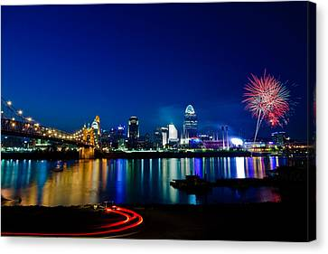 Cincinnati Boom Canvas Print