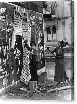 Cincinnati: Suffragettes Canvas Print by Granger