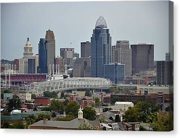 Cincy Canvas Print