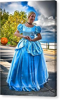 Cinderella And Her Carriage Canvas Print