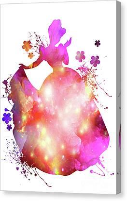 Cinderella  Canvas Print by Prar Kulasekara