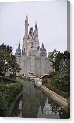 Cinderellas Castle Canvas Print by John Black