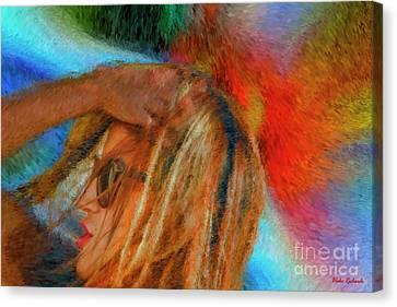Cindy Canvas Print by Blake Richards