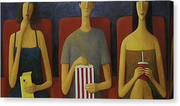 Cinema Canvas Print by Glenn Quist