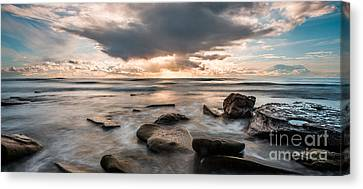 Cinematic Waves Canvas Print