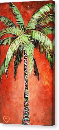 Cinnamon Palm Canvas Print
