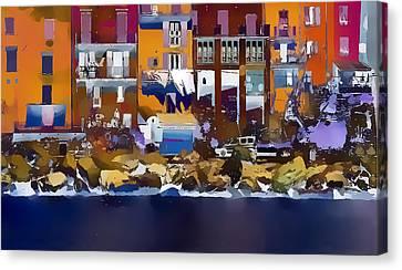 Cinque Terre  I Canvas Print by Gareth Davies