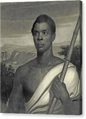Cinque, The Chief Of The Amistad Captives Canvas Print