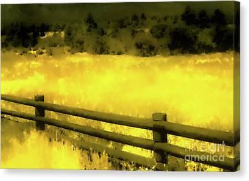 Ciquique Pueblo Meadow 2 Canvas Print