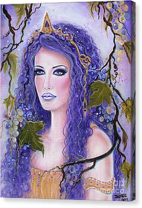 Circe Greek Goddess Canvas Print by Renee Lavoie