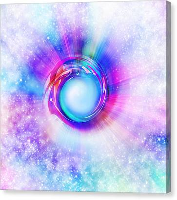 Circle Eye  Canvas Print by Setsiri Silapasuwanchai