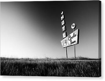 Circle Inn Canvas Print by Todd Klassy
