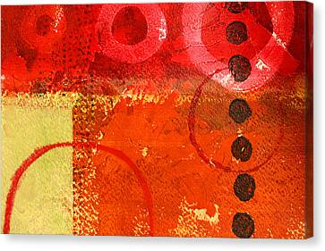 Circle Movement Canvas Print by Nancy Merkle