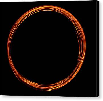 Circle Of Fire  Canvas Print