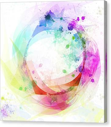 Circle Of Life Canvas Print by Setsiri Silapasuwanchai