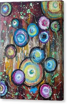 ''circles'' Canvas Print by Asia Dzhibirova