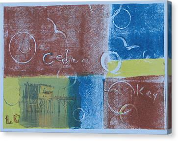Circling The Key Canvas Print by Libby  Cagle