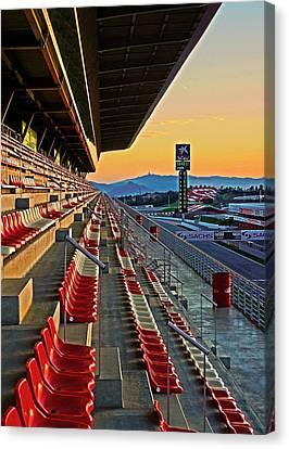 Circuit De Catalunya - Barcelona  Canvas Print
