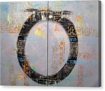 Canvas Print - Circular Conversations by Dale Witherow