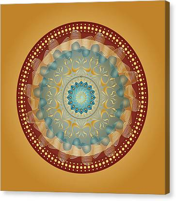 Circularity No 1640 Canvas Print