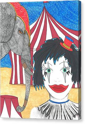 Circus Life Canvas Print by Sherie Balko-Nation