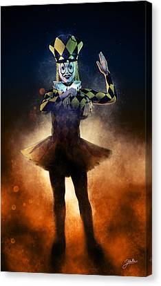 Circus Of Horrors - Doll Corpse Canvas Print by Joaquin Abella