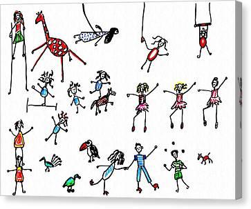 Circus Canvas Print by Sarah Loft