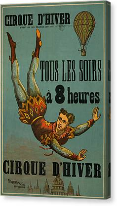 Cirque D'hiver Canvas Print