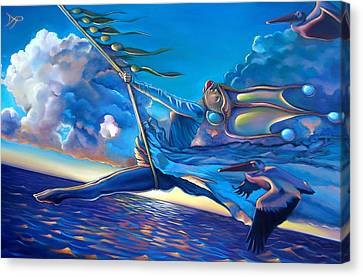 Seaweed Canvas Print - Cirque Du Sole by Patrick Anthony Pierson