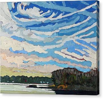 Cirrious Skies Canvas Print
