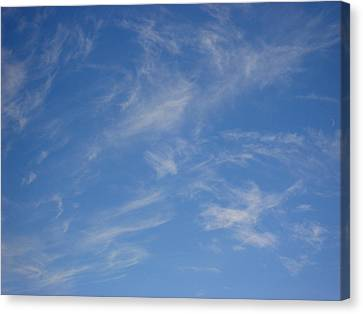 Cirrus Clouds Canvas Print