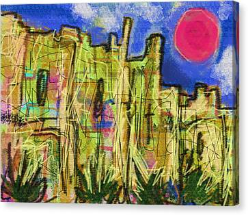 Citadel De Raymond  Canvas Print by Paul Sutcliffe
