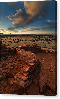 Citadel Walls Canvas Print by Mike  Dawson