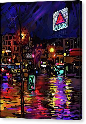 Citgo Sign, Boston Canvas Print