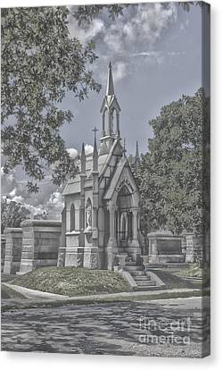 Cities Of The Dead Canvas Print by Janice Spivey