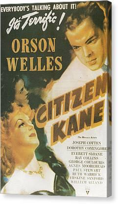 Citizen Kane - Orson Welles Canvas Print
