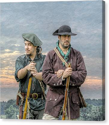 Citizen Soldiers Canvas Print by Randy Steele