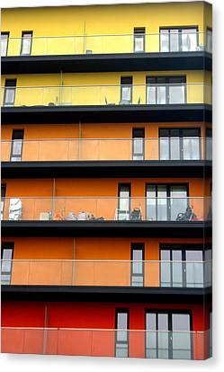 Citric House Canvas Print by Jez C Self
